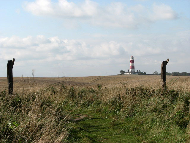 Clifftop path to Happisburgh