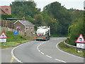 SO5621 : A40 at Pencraig by Jonathan Billinger