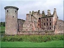NY0265 : Caerlaverock Castle by Lynne Kirton