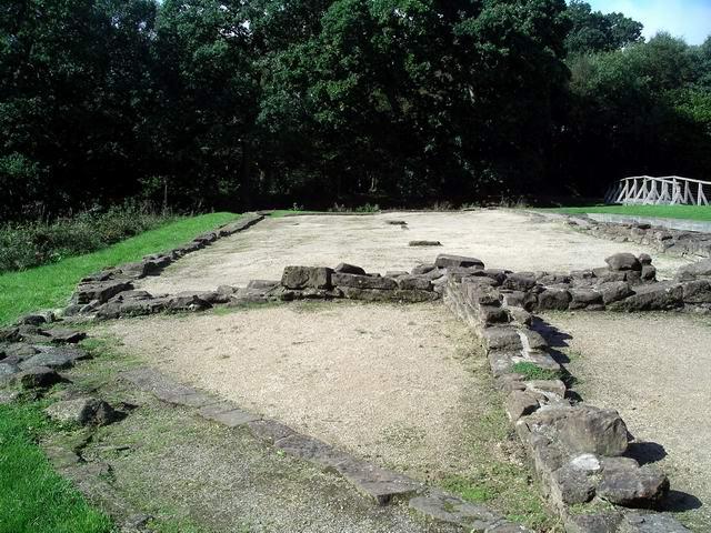 The first castle at Caerlaverock