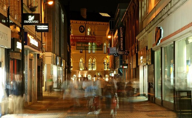 Spectral shoppers, Belfast