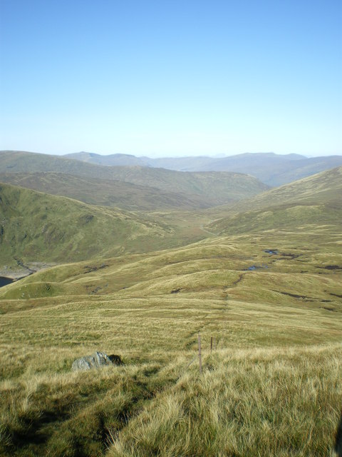 High on the western side of Meall Corranaich