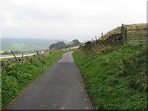 SK2078 : Lane to Nether Bretton by Alan Heardman