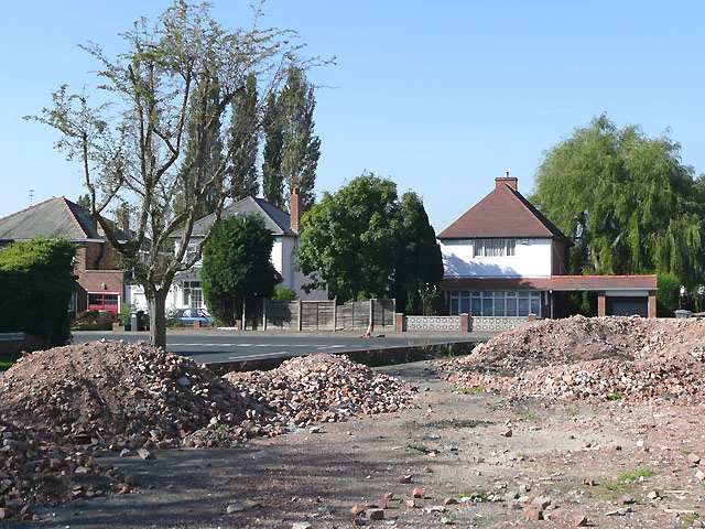Birchwood Road and building site, Penn, Wolverhampton