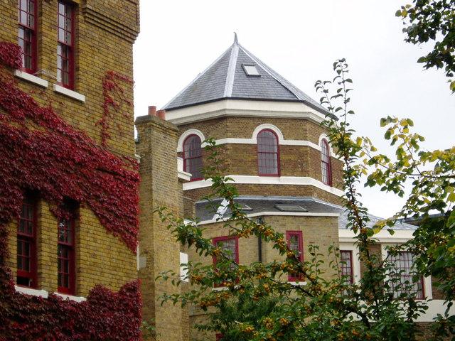 Osterley Views Octagonal Tower from Osterley Garden's car park