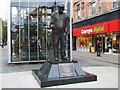 SD7109 : Statue of Fred Dibnah, Bolton by Kenneth  Allen