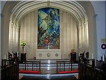 J5081 : Bangor Abbey - Kenneth Webb Mural by Elizabeth Hanna