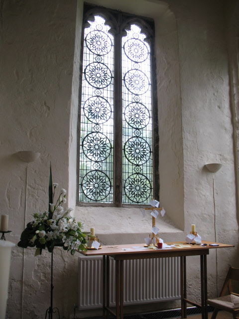 New window in St Brandon's