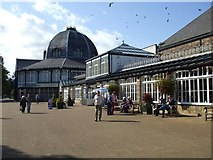 SK0573 : Pavilion, Buxton by Kenneth  Allen
