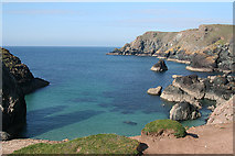 SW6813 : Landewednack: at Kynance Cove by Martin Bodman