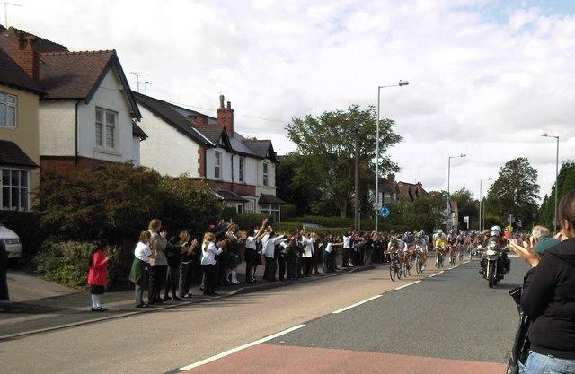 Tour of Britain in Coalway road.