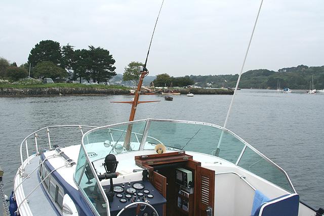 Mylor: quay at Restronguet Passage