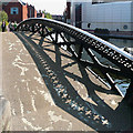 SP0586 : Bridge over the canal at Farmer's Bridge Junction, Birmingham by Roger  Kidd