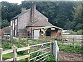 NY4559 : DIY tearoom at High Crosby Farm by Oliver Dixon