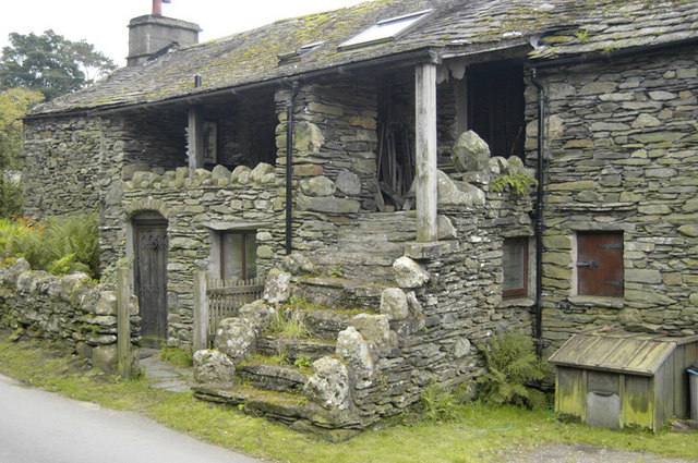 Cottage with spinning gallery, Hartsop