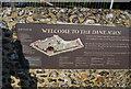 TR1457 : Information board on Dane John, Canterbury by N Chadwick