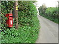 SY5193 : Uploders: postbox № DT6 97 by Chris Downer