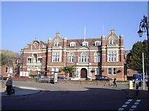 TQ7407 : Town Hall, Bexhill by Julian P Guffogg