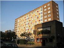 TQ3283 : Hoxton: Evelyn Court, Wenlock Barn Estate, N1 by Nigel Cox