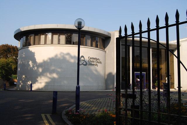 canterbury christ church university  u00a9 n chadwick cc 2 0    geograph britain and ireland