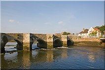 SU3613 : Red Bridge, Redbridge by Peter Facey