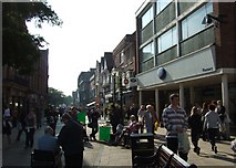 SJ9223 : Greengate Street, Stafford by Simon Huguet
