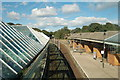 NZ3669 : Looking North, Tynemouth metro station by hayley green
