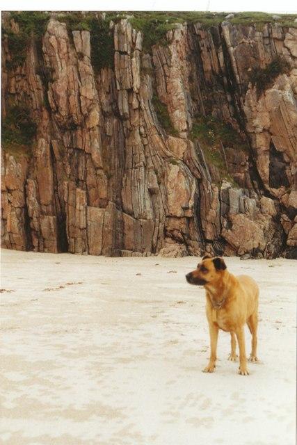 Traigh cliffs