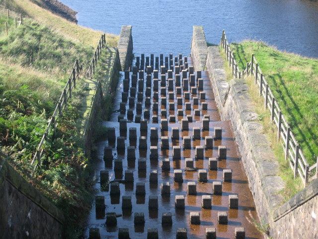 Yeoman Hey Reservoir Spillway