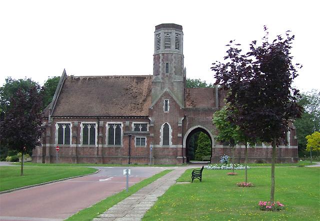 Eltham Cemetery Chapel at Falconwood