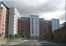 SE3032 : Chadwick Street & Clarence Dock Apartments by Betty Longbottom