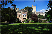 ST5545 : The Bishop's Palace Gatehouse - Wells by Mike Searle