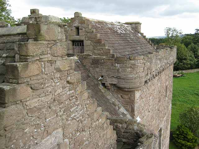 The Maiden's Leap, Huntingtower Castle