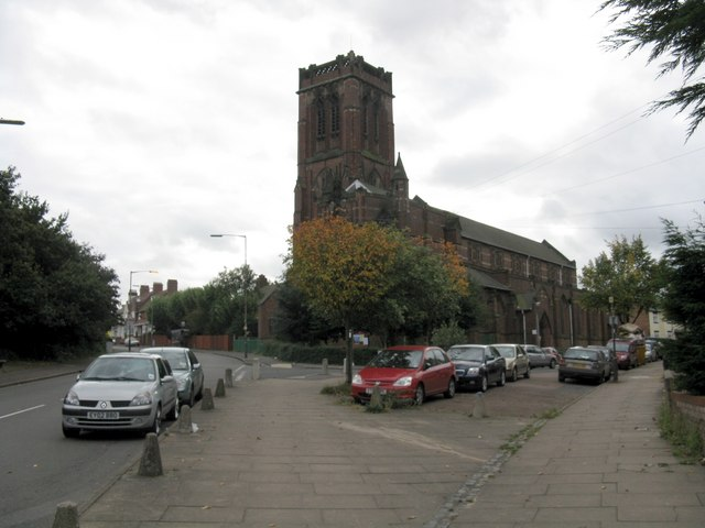 Church off Handsworth New Road