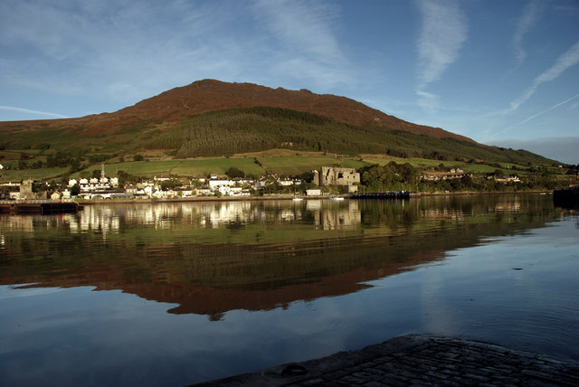 Carlingford from across the Harbour