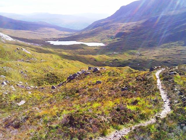 Path to Bealach na Lice
