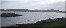 NM6586 : Arisaig Bay by Sarah Charlesworth