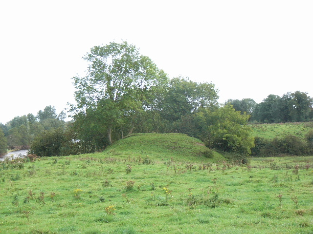 Motte at Scurlockstown, near Trim, Co. Meath