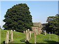 NY8548 : St Peter's Church and graveyard (2) by Mike Quinn