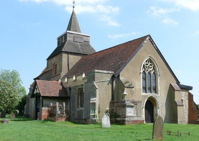 St. Nicholas church, Fyfield
