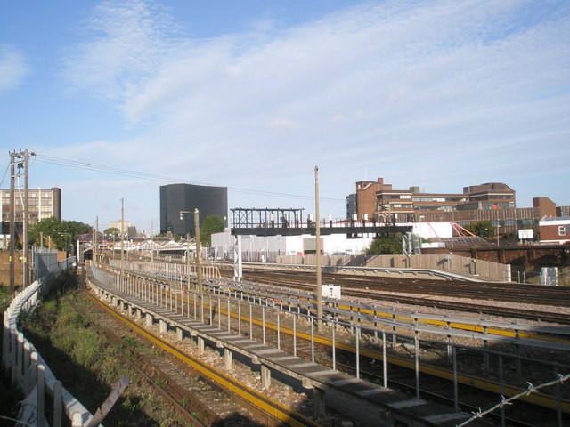 Rear of Portsmouth & Southsea Station