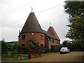 TQ7147 : Den Farm Oast, Den Lane, Collier Street, Kent by Oast House Archive