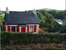 H4085 : House with shutters, Newtownstewart by Kenneth  Allen