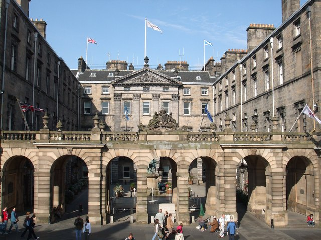 The  City Chambers  Edinburgh