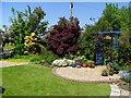 NS6254 : Garden in West Mains, East Kilbride by Dannie Calder