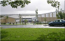 SE0423 : Ryburn Valley High School - St Peter's Avenue, Sowerby by Betty Longbottom