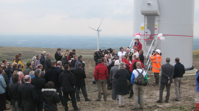 The Official Opening of Scout Moor Wind Farm