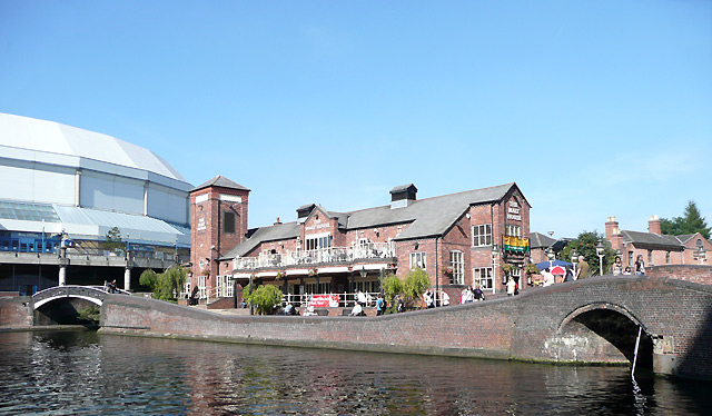 The Malt House at Old Turn Junction, Birmingham Canal Navigations