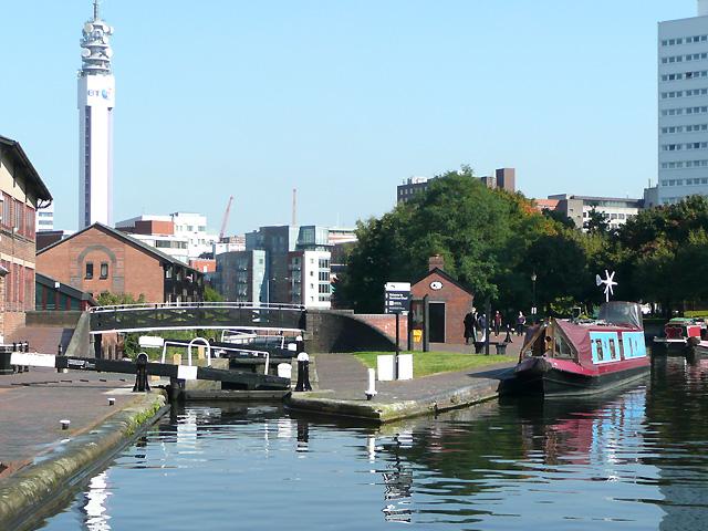 Farmer's Bridge Locks No 1, Birmingham