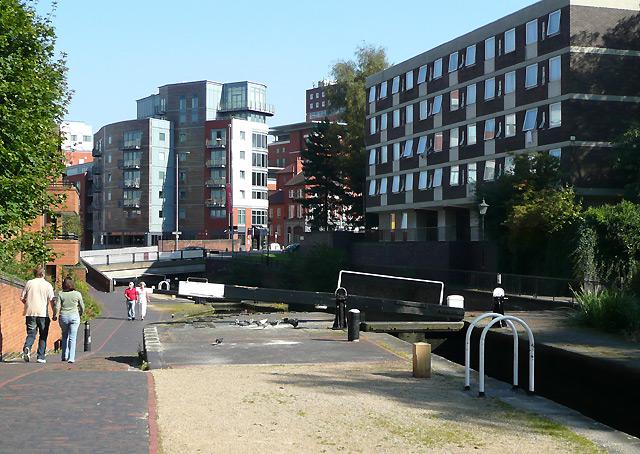 Farmer's Bridge Locks No 2, Birmingham